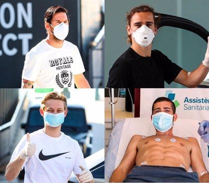 Jugadores y cuerpo técnico del Barça ya se han hecho el test del coronavirus