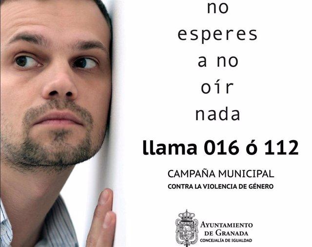 Campaña municipal 'No esperes a no oír nada' contra la violencia machista