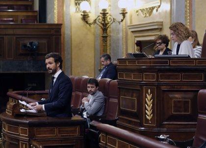 """España.- Casado avisa a Sánchez que le espera un """"calvario"""" por su """"arrogancia insultante"""": """"Usted es el error absoluto"""""""
