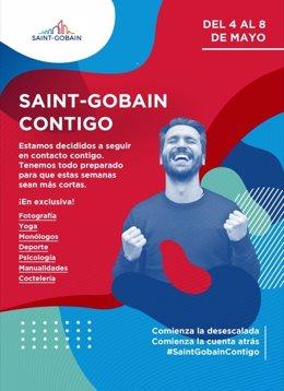 COMUNICADO: Más de 1.000 visitas en dos días en el festival online #Saint-Gobain