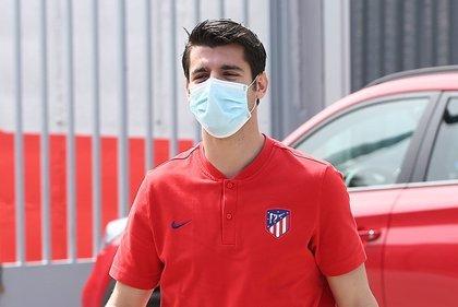 """Morata: """"Tenemos muchas ganas de entrenar, da igual si es individual o en grupos"""""""
