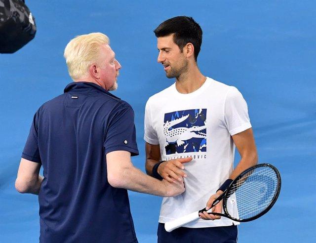 """Tenis.- Boris Becker: """"El parón beneficia más a Djokovic, Nadal o Federer que a"""