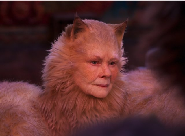 Judi Dench en Cats