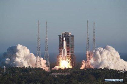 Funcionamiento anormal de la cápsula espacial inflable de China