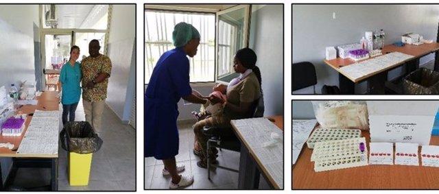 Investigadoras del CIBERESP estudian la resistencia a antirretrovirales del VIH en Guinea Ecuatorial
