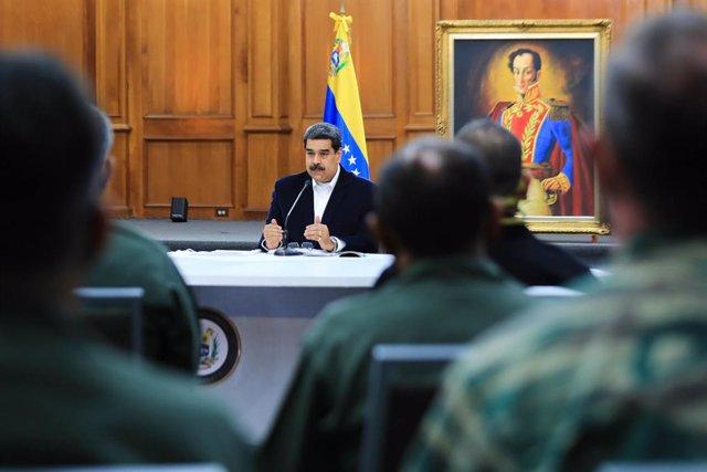 """Venezuela.- Maduro acusa a Trump de un """"intento de golpe de Estado"""" en Venezuela"""