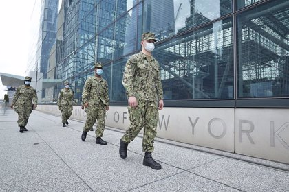 Coronavirus.- Nueva York suma otros 232 muertos en un solo día ante un continuo descenso de los hospitalizados