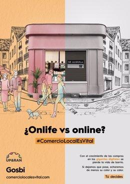 COMUNICADO: Gosbi lanza una campaña de apoyo al comercio local