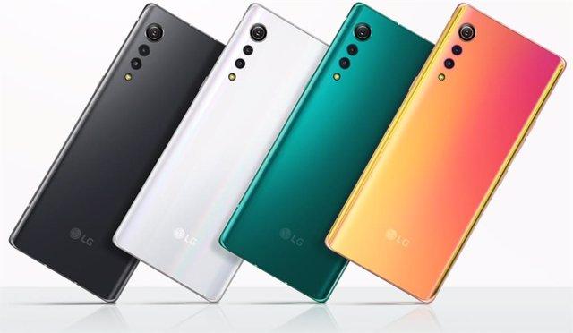 LG presenta Velvet, su gama de móviles que apuesta por el diseño con 7,9mm de pe