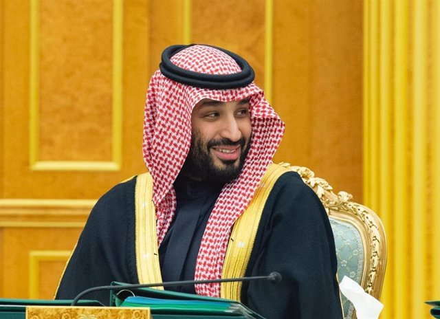 11 February 2020, Saudi Arabia, Riyadh: Saudi Crown Prince Mohammad Bin Salman Al Saud attends a cabinet meeting at Al-Yamamah Palace. Photo: -/Saudi Press Agency/dpa