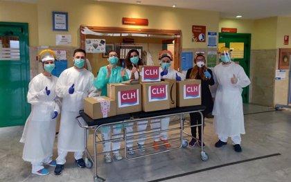 CLH dona material no sanitario a 21 hospitales y 9 residencias de ancianos