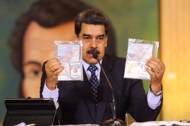 Venezuela.- Maduro dice que denunciará a EEUU en el TPI y en la ONU por la 'Oper