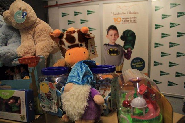 [Grupoextremadura] El Corte Inglés Dona A Fundación Aladina 3.000 Juguetes Para Niños Hospitalizados