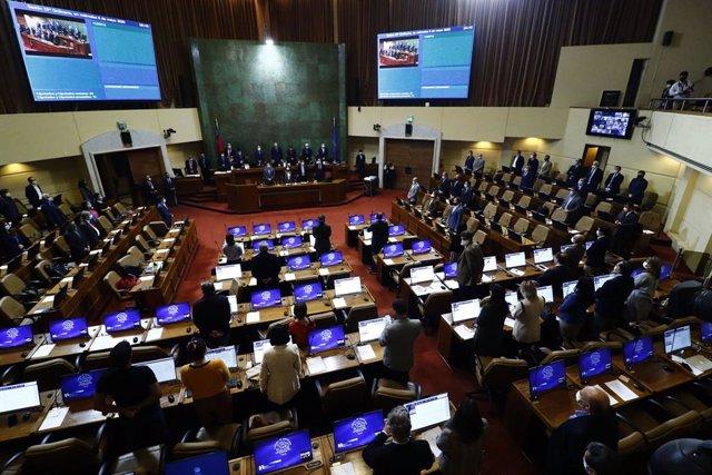 Coronavirus.- Suspendida la sesión de la Cámara Baja de Chile del jueves por un