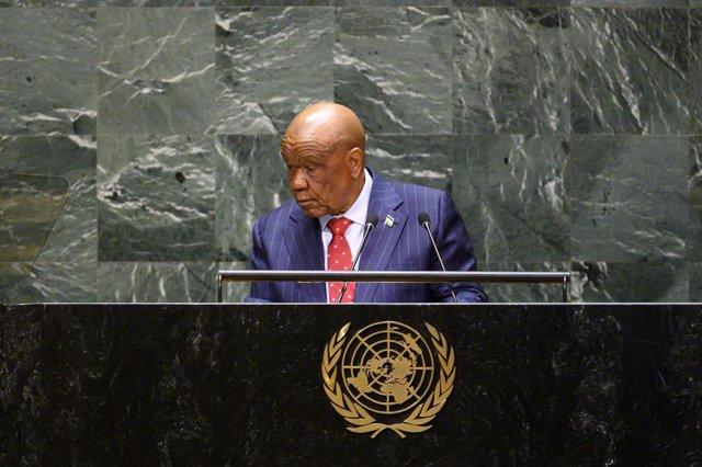 """Lesoto.- Thabane reitera su intención de dimitir en julio y reconoce """"pasos"""" que"""