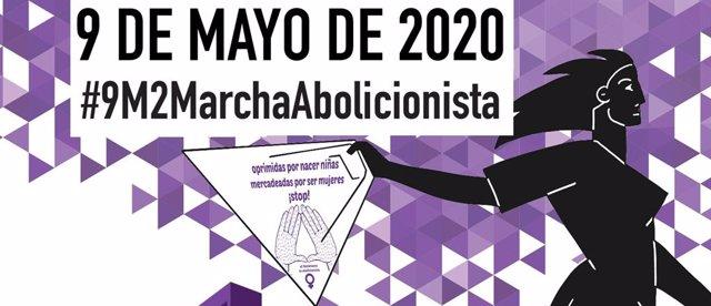 Cartel de la II Marcha abolicionista