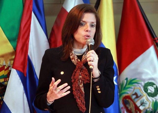 Mercedes Araoz, exvicepresidenta de Perú.