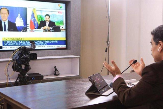 """EEUU/Venezuela.- Maduro afirma que los """"enlaces de comunicación"""" con EEUU están"""
