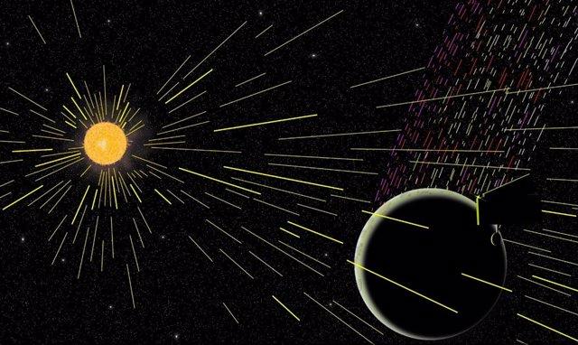 Emisiones de carbono en la Luna cuestionan modelos de formación