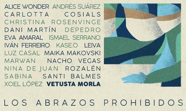 Cultura.- Vetusta Morla anuncia canción benéfica con Sabina, Dani Martín, Leiva, Kase.O, Luz Casal o Santi Balmes