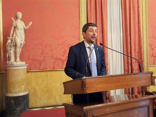 El presidente de la Cámara de Comercio de Barcelona, Joan Canadell