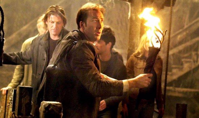 Jon Voight, Sean Bean, Nicolas Cage en La búsqueda