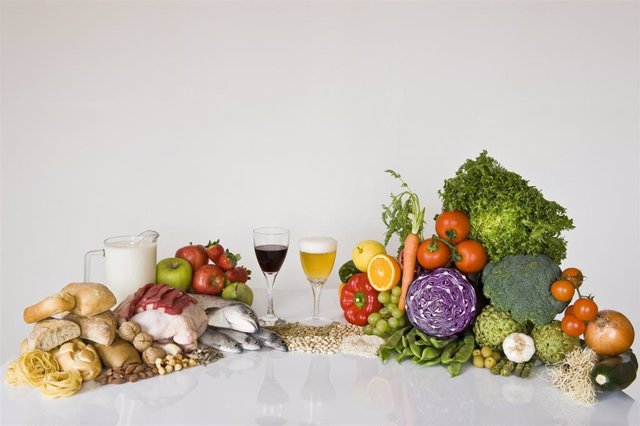 Imagen de archivo para dieta mediterránea.