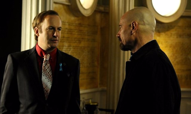 Saul Goodman y Walker White en Breaking Bad