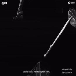 Escucha los sonidos del paso de la nave BepiColombo sobre la Tierra