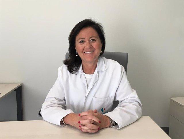 La jefa de servicio de Oncología Médica del Hospital Quirónsalud Córdoba, María Jesús Rubio