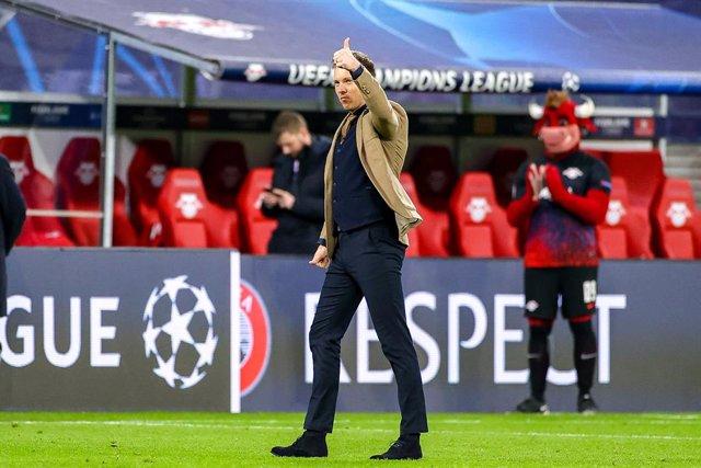 Fútbol.- Julian Nagelsmann cree que el uso de las mascarillas en los técnicos re