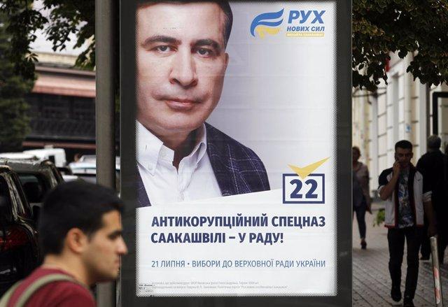 Ucrania.- Georgia protesta formalmente por la incorporación del expresidente Saa
