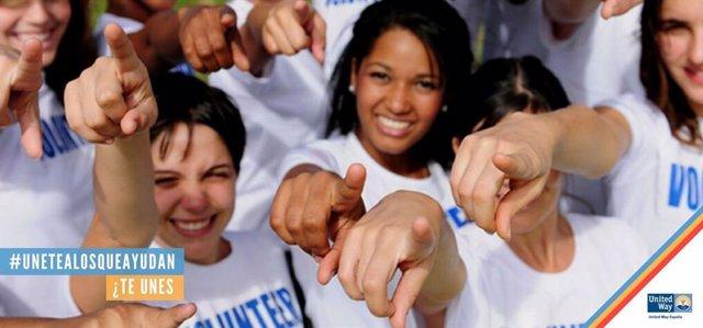 Campaña de United Way España #unetealosqueayudan