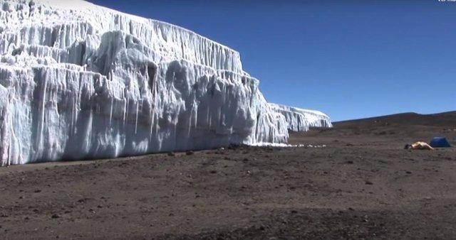 Es probable que el hielo glaciar registre señales del COVID 19