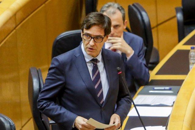 Cvirus.- El Gobierno rechaza que la Comunidad de Madrid pase a la fase 1 de la d