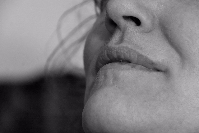 Olfato, mujer, nariz