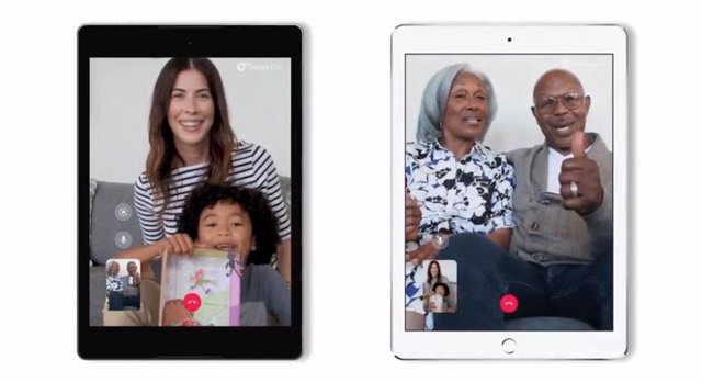 Google Duo en iPad y tablets