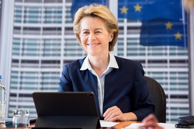 UE.- Von der Leyen señala que el objetivo fundacional de solidaridad europea es