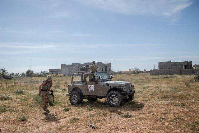 Libia.- El Ejército Nacional Libio niega su implicación en ataques próximos a se