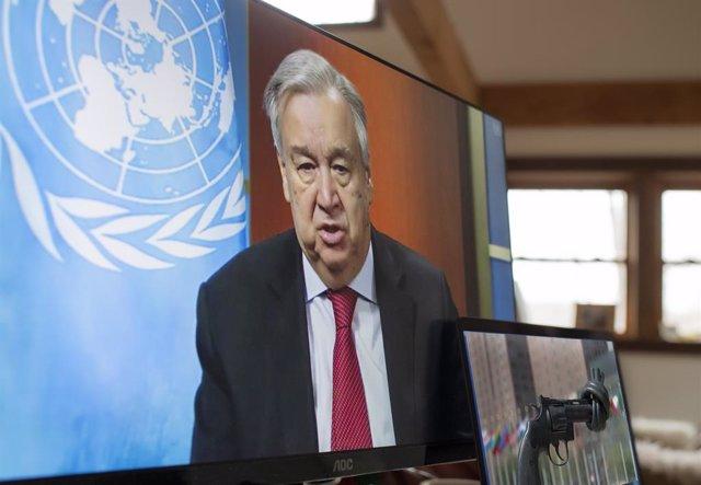 """Europa.-Guterres destaca que la paz y la unidad son """"más necesarias que nunca"""" e"""