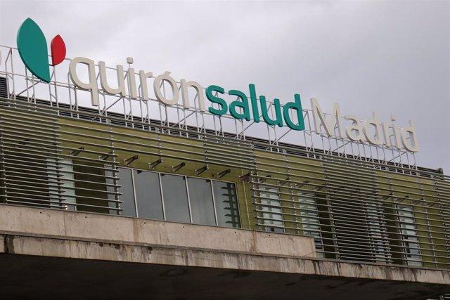 Ffachada principal del Hospital Quirón Salud