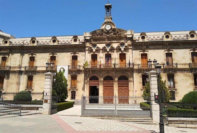 Diputación de Jaén se suma al luto oficial decretado por la Junta.