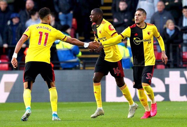 Fútbol.- El Watford se opone a jugar en campos neutrales en la reanudación de la