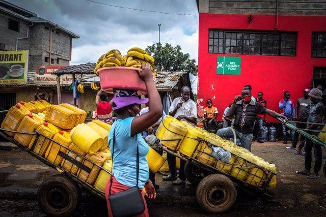 Coronavirus.- Kenia suspende los mercados de carne al aire libre en las frontera