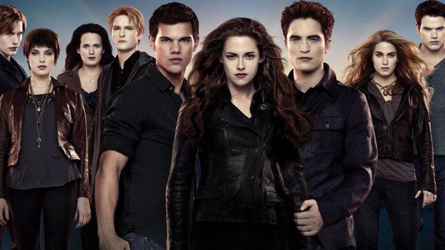 Protagonistas de la saga Crepúsculo