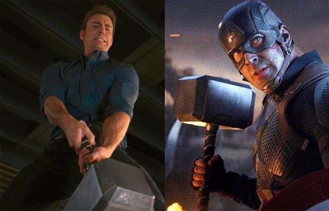 ¿Por Qué Capitán América No Puede Levantar El Martillo De Thor En Vengadores 2 Pero Sí En Endgame?
