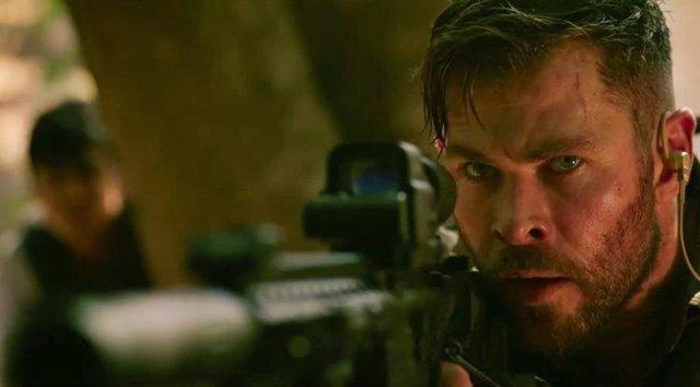 Chris Hemsworth protagoniza Tyler Rake