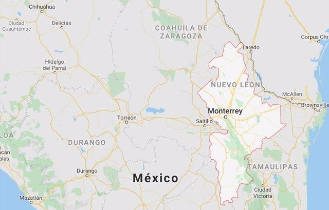 Imagen del estado mexicano de Nuevo León.