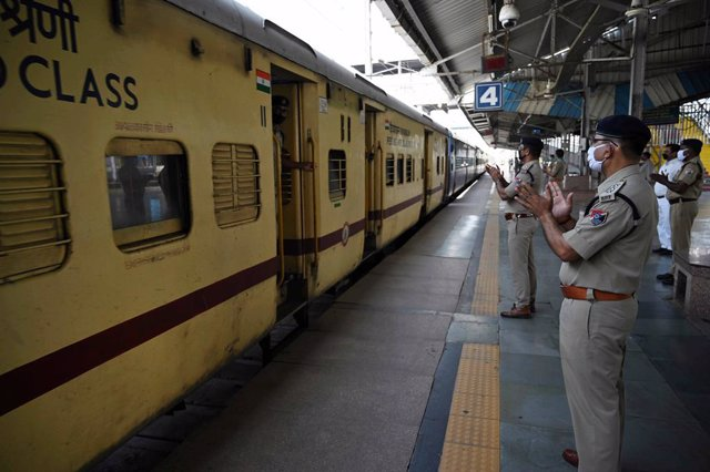 Coronavirus.- La Policía india constata un repunte de contagios entre sus filas