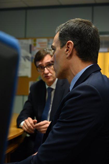 """Illa defiende que el dato de Sánchez es """"correcto"""" y que España es el quinto país que más test realiza"""